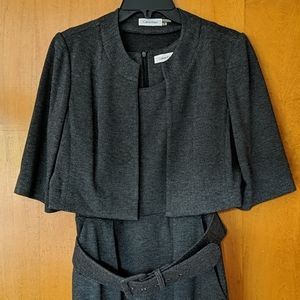 Calvin Klein dress suit with bolero